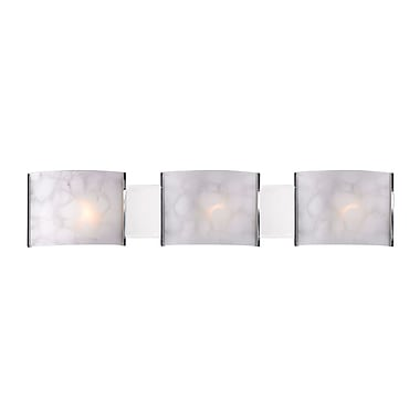 Z-Lite Ombra (1122-3V-CH) 3 Light Semi Flush Mount Light, 4