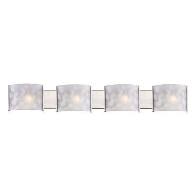 Z-Lite Ombra (1122-4V-BN) 4 Light Vanity Light, 4
