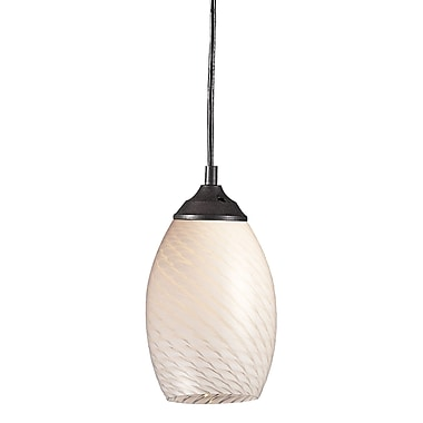 Z-Lite Jazz (131-WHITE) 1 Light Mini Pendant, 5