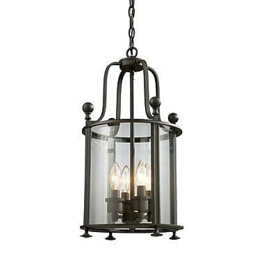 Z-Lite Wyndham (135-4) 4 Light Pendant, 11.5