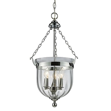 Z-Lite Warwick (137-25) 3 Light Pendant, 12.25