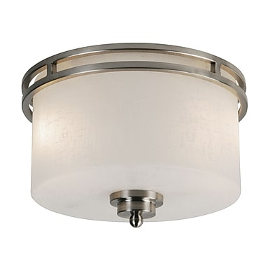Z-Lite Cobalt (152F-2) 2 Light Flush Mount, 12