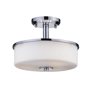 Z-Lite Ibis (163SF) 3 Light Semi-Flush Mount, 11