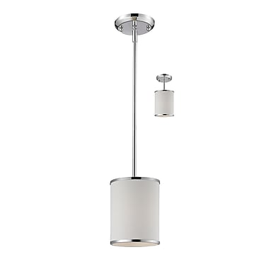 Z-Lite Cameo (164-6) 1 Light Convertible Pendant, 6