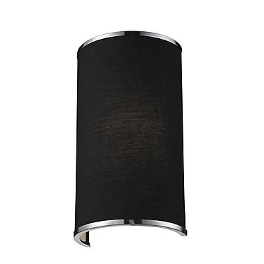 Z-Lite Cameo (168-1S) - Bras de lumière à une lumière, 4,5 po x 6,63 po x 11,63 po, chrome