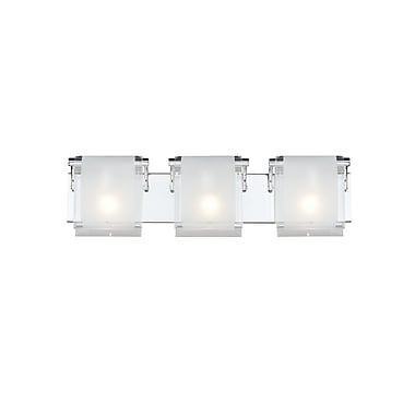Z-Lite Zephyr (169-3V) 3 Light Vanity, 4.53