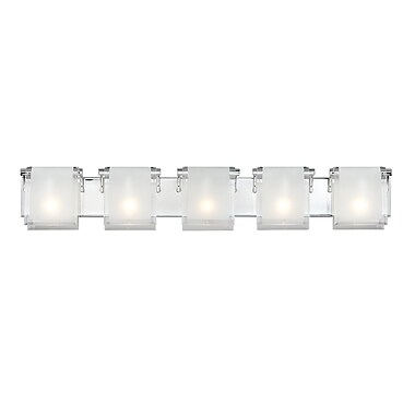 Z-Lite Zephyr 169-5V, 5 Light Vanity, 4.53