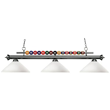 Z-Lite Shark (170GM-AMO14) 3 Light Billiard, 60