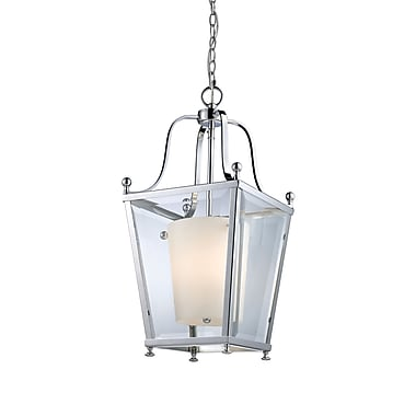 Z-Lite Ashbury (178-3) - Suspension à trois lumières, 10,88 po x 23 po, chrome