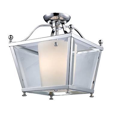 Z-Lite Ashbury (178-3SF-M) 3 Light Semi-Flush Mount, 12.25