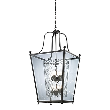 Z-Lite Ashbury (179-8) - Suspension à huit lumières, 21 po x 41,75 po, bronze