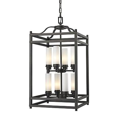 Z-Lite Altadore (181-8) - Suspension à huit lumières, 15 po x 15 po x 28,75 po, bronze