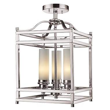 Z-Lite Altadore (182SF) 3 Light Semi Flush Mount Light, 10.75