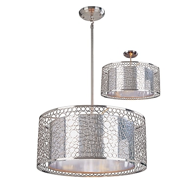Z-Lite Saatchi (185-20) 6 Light Pendant, 20
