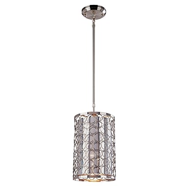 Z-Lite Saatchi (185-6) 1 Light Mini Pendant, 6