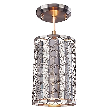 Z-Lite Saatchi (185-6SF) 1 Light Pendant, 6