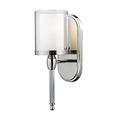 Z-Lite Argenta (1908-1S) 1 Light Wall Sconce, 6.25
