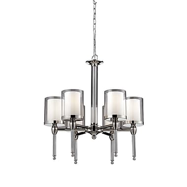 Z-Lite Argenta (1908-6) 6 Light Chandelier, 22.25