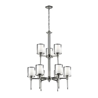 Z-Lite Argenta (1908-9) 9 Light Chandelier, 28