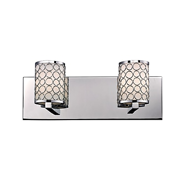 Z-Lite Synergy (199-2V) 2 Light Vanity Light, 4.75