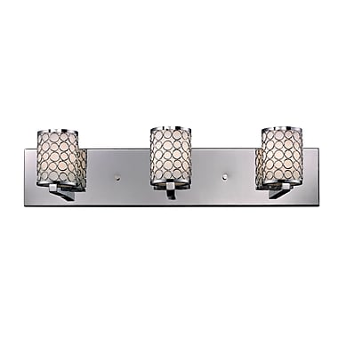 Z-Lite Synergy (199-3V) 3 Light Vanity Light, 4.75