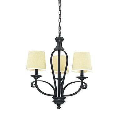 Z-Lite Charleston (2001-3) 3 Light Chandelier, 21.75