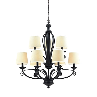 Z-Lite Charleston (2001-9) 9 Light Chandelier, 31.75