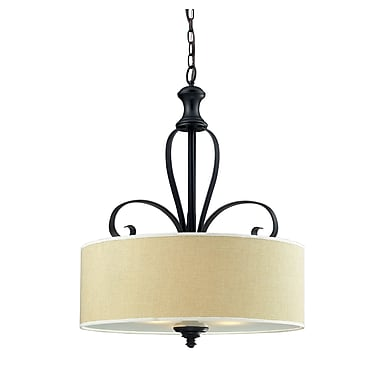 Z-Lite Charleston (2001P) 3 Light Pendant, 22.25