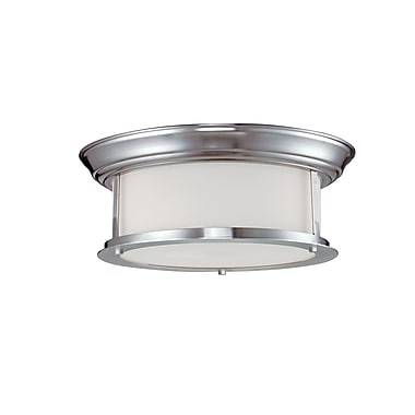 Z-Lite Sonna (2002F13-BN) 2 Light Ceiling, 13.25