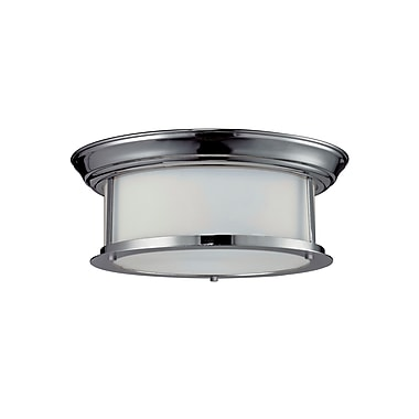 Z-Lite Sonna (2003F13-CH) 2 Light Ceiling, 13.25