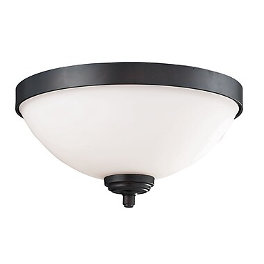 Z-Lite Chambley (2006F2) 2 Light Flush Mount, 12