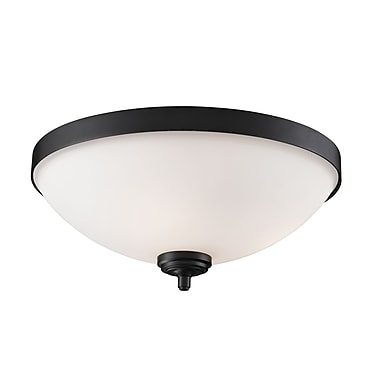 Z-Lite Chambley (2006F3) 3 Light Flush Mount, 16