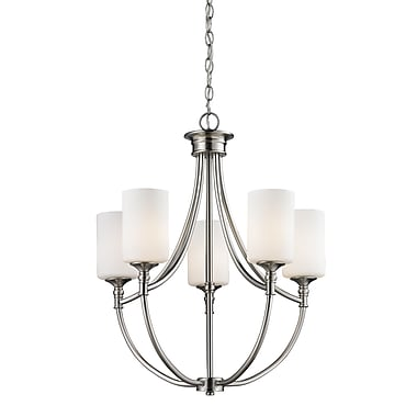 Z-Lite Cannondale (2102-5) 5 Light Chandelier, 20