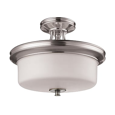 Z-Lite Cannondale (2102SF) 3 Light Semi-Flush Mount, 15