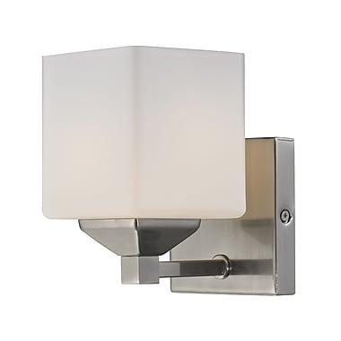 Z-Lite Quube (2104-1V) 1 Light Vanity Light, 6