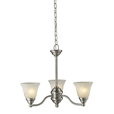 Z-Lite Athena (2110-3) 3 Light Chandelier, 20