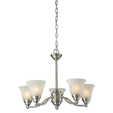 Z-Lite Athena (2110-5) 5 Light Chandelier, 22.5