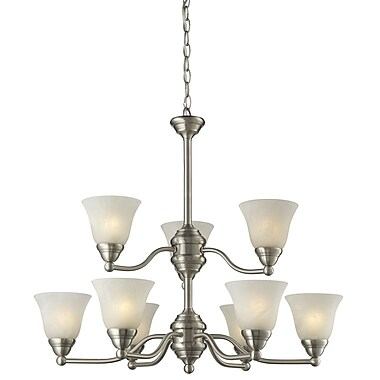 Z-Lite Athena (2110-9) 9 Light Chandelier, 22.5