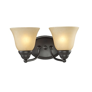 Z-Lite Athena (2114-2V) 2 Light Vanity Light, 7.75