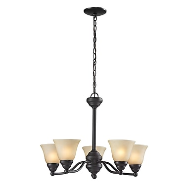 Z-Lite Athena (2114-5) 5 Light Chandelier, 22.5