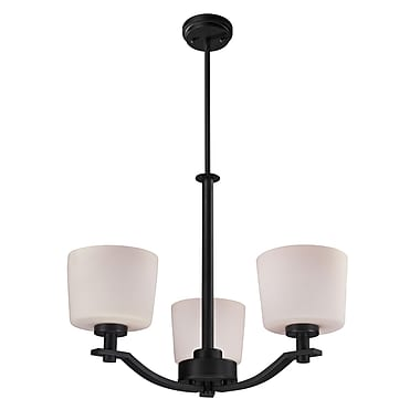 Z-Lite Arlington (220-3) 3 Light Chandelier, 26