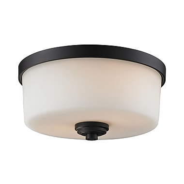 Z-Lite Arlington (220F2) 2 Light Flush Mount, 12.25