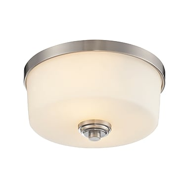 Z-Lite Lamina (226F2) 2 Light Flush Mount Light, 12.13