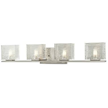 Z-Lite Jaol (3024-4V) 4 Light Vanity Light, 3.75