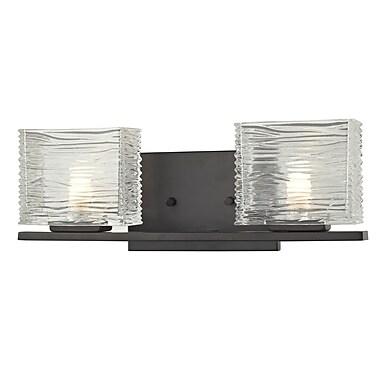 Z-Lite Jaol (3026-2V) 2 Light Vanity Light, 3.75