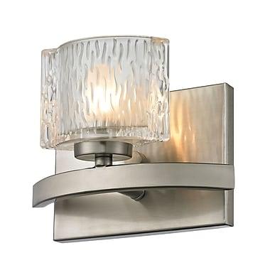 Z-Lite Rai (3027-1V) - Luminaire pour salle de bains à une lumière, 3,63 po x 7,38 po x 5,5 po