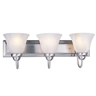 Z-Lite Lexington (311-3V-BN) 3 Light Vanity, 8.75