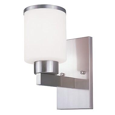 Z-Lite Cosmopolitan (312-1S-NB) - Bras de lumière à une lumière, 7 po x 4,5 po x 9,75 po, nickel brossé