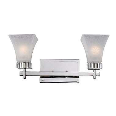 Z-Lite Pershing (319-2V) 2 Light Vanity Light, 6.63