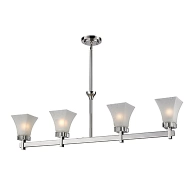 Z-Lite Pershing (319-4) 4 Light Island/Billiard Light, 42